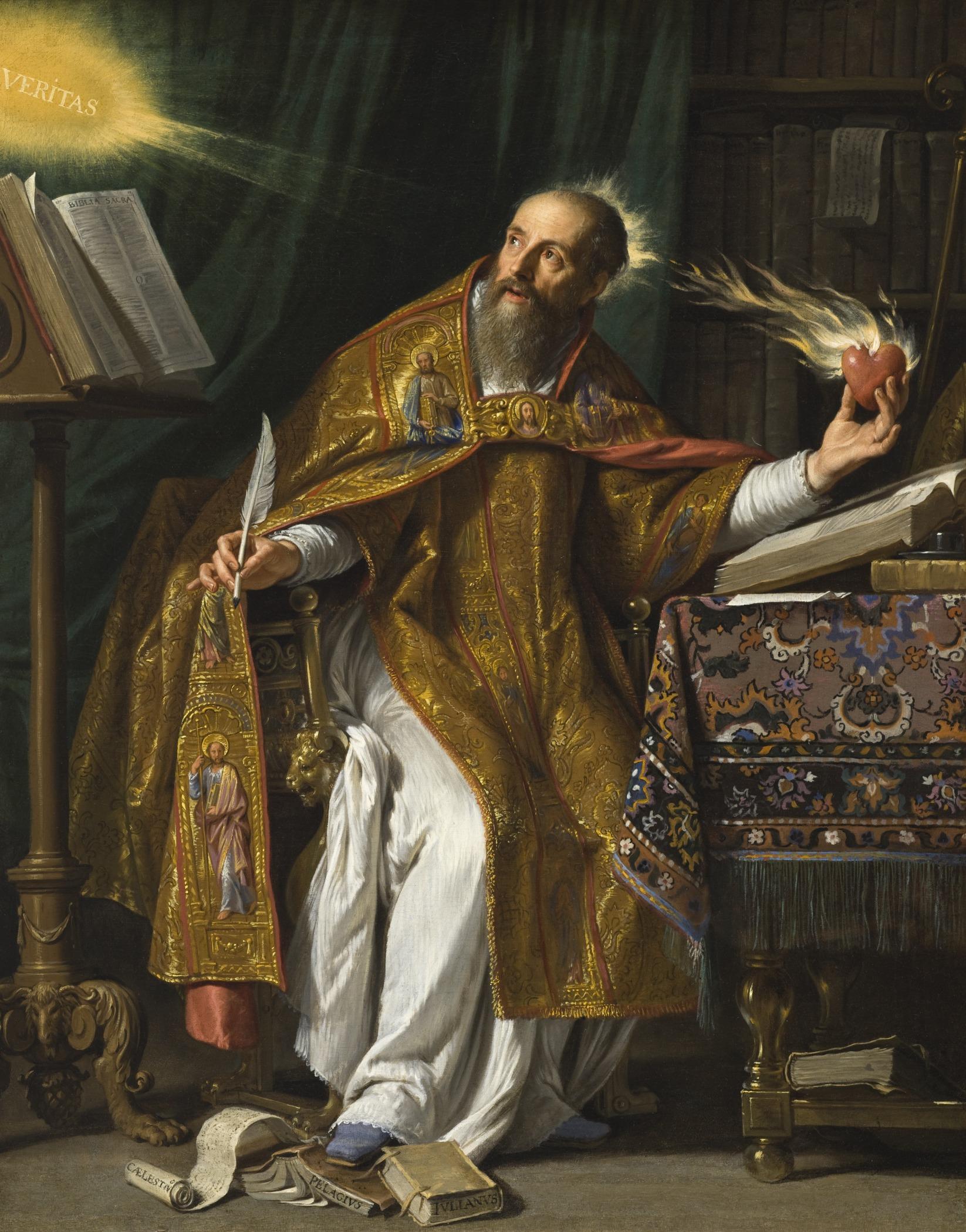 Stankt Augustin (Philippe de Champaigne)